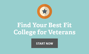 Find best fit college for veterans