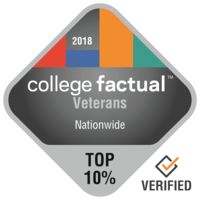 Top ranked student veterans badge
