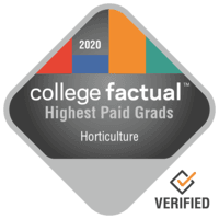 Highest Paid Horticulture Graduates in the Far Western US Region