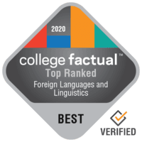 2020 Best Colleges in Foreign Languages & Linguistics