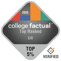 College Factual Top 5% - Top Ranked: 5 of 357
