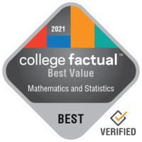 Best Value Colleges for Mathematics & Statistics in the New England Region
