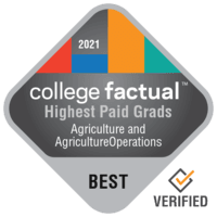 Highest Paid Agriculture & Agriculture Operations Graduates