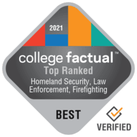 2021 Best Colleges in Homeland Security, Law Enforcement & Firefighting