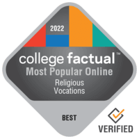 Most Popular Bachelor's Degree Online Theology & Religious Vocations (Other) Schools
